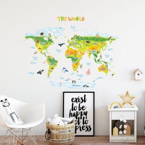 Decowall mala karta svijeta