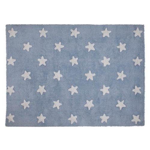 Tepih plavi/ bijele zvjezdice