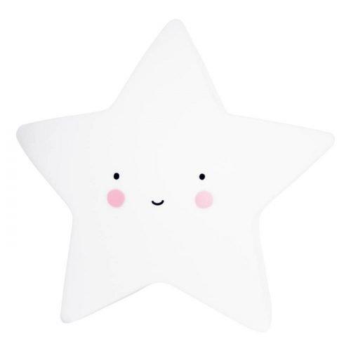 Lampica zvjezdica bijela