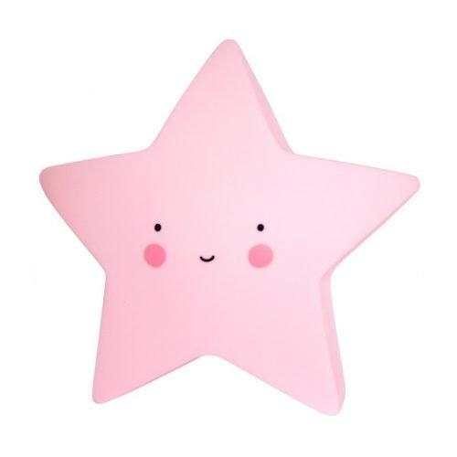 Lampica zvjezdica roza
