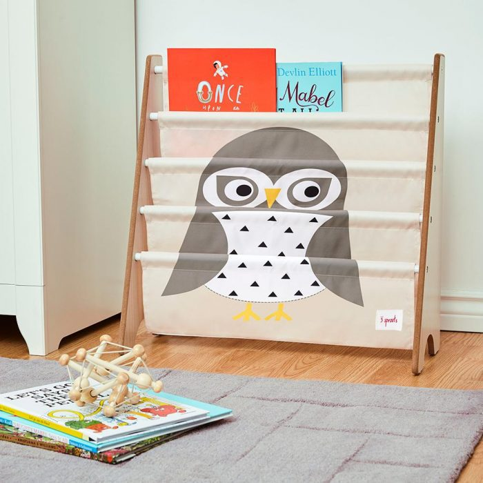 owl bookrack