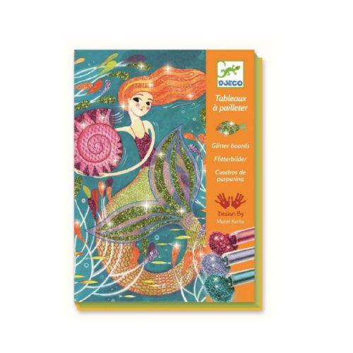 kreativni set s gliterom Sirena