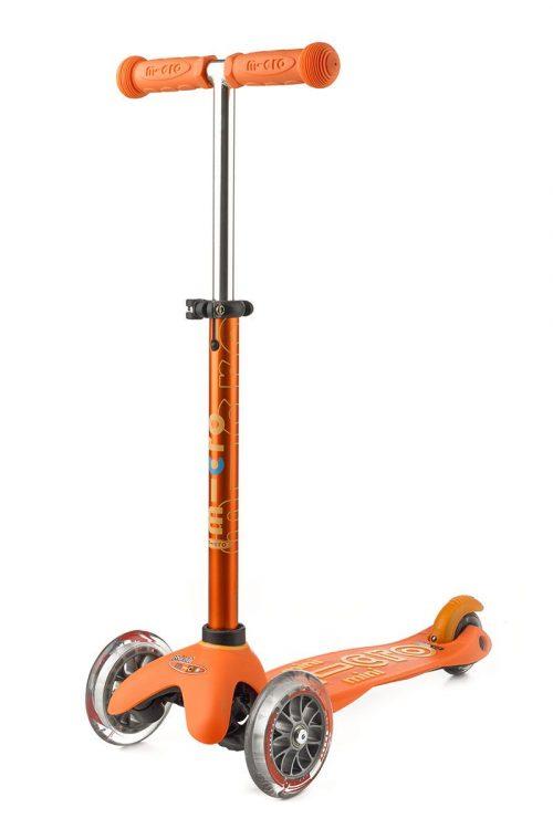 Micro Mini deluxe romobil narančast