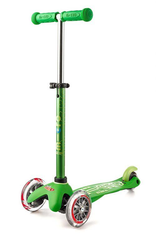 Micro Mini deluxe romobil zeleni