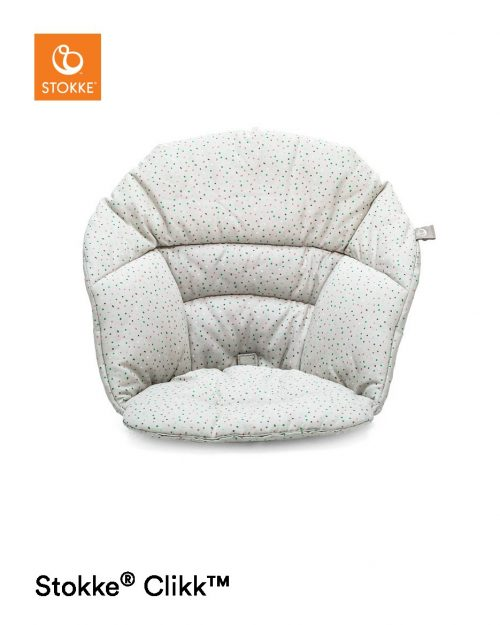 Stokke Clikk jastuk - Grey Sprinkles