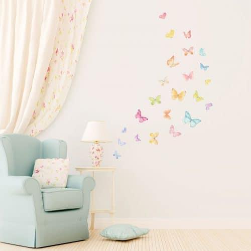 pastelni leptiri