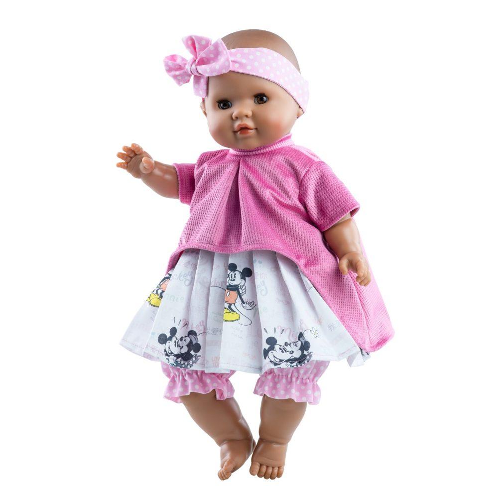 Paola Reina bebe i lutke